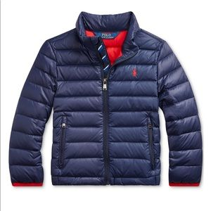 Polo Ralph Lauren's quilted jacket 3 Toddler